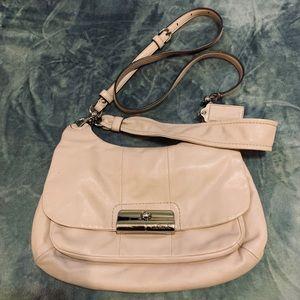 Coach Kristin Pink/ mauve Leather bag